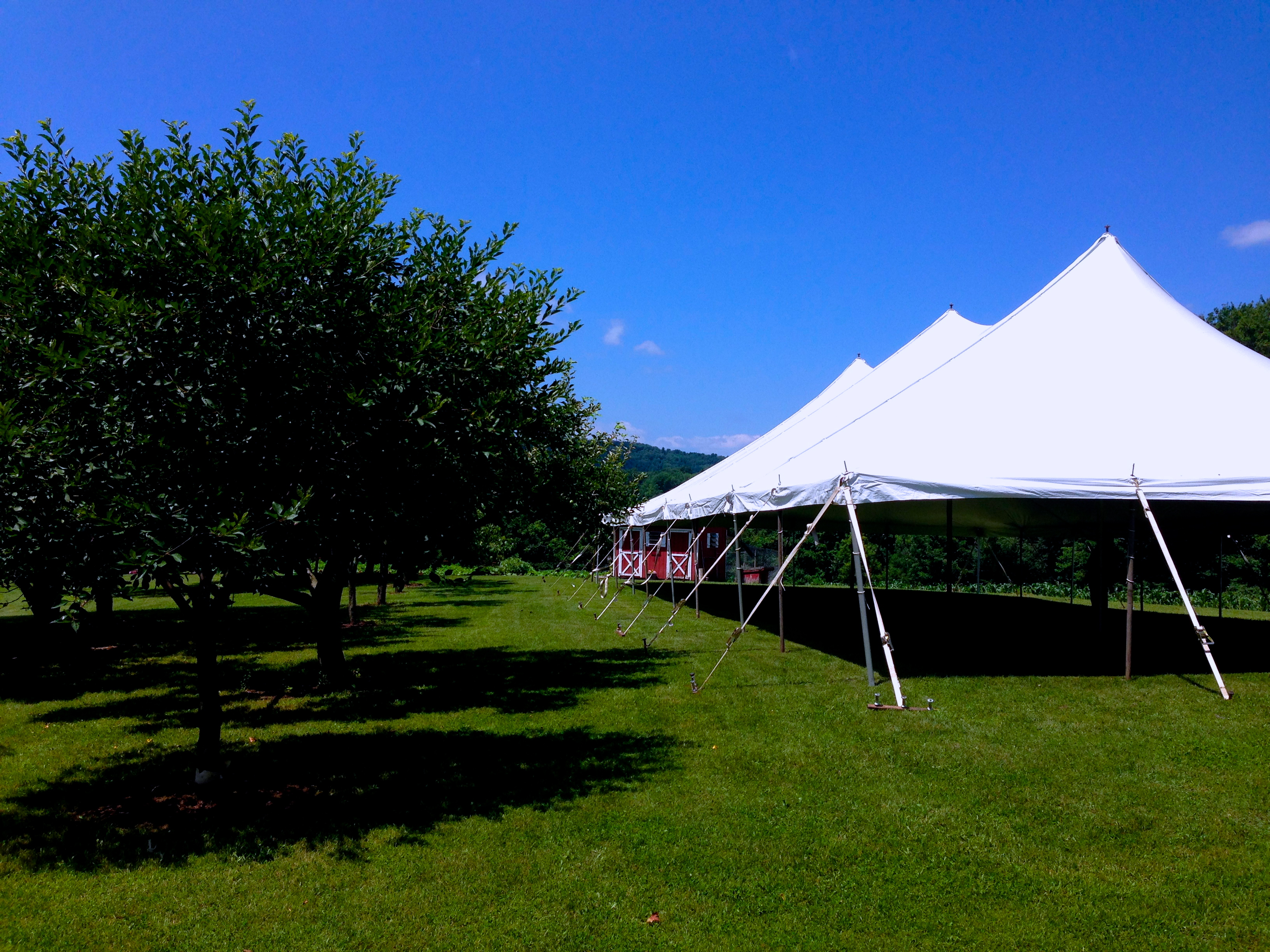Pole Tents Big Top Rentals The Largest Tent And Party