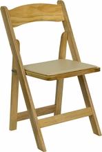 Fancy wooden foldable chair